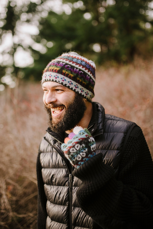 60b956efc0d 100% Baby Alpaca hand knit hat