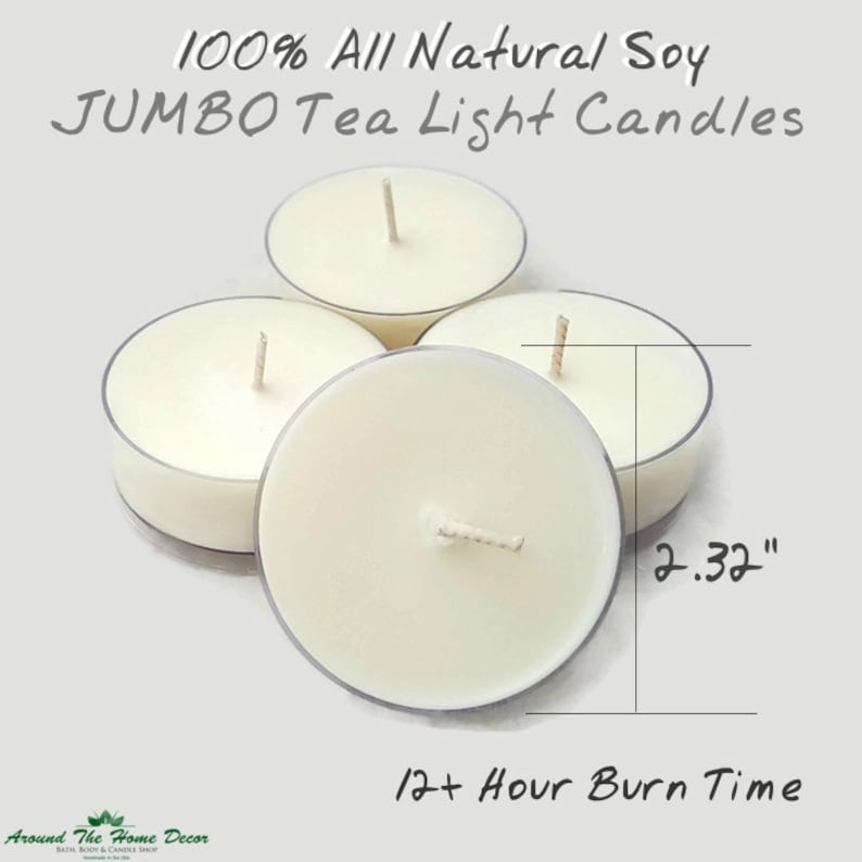 U Pick Scents! 100 Pack Soy Tealights HIGHLY SCENTED
