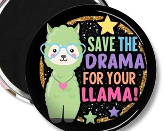 Llama gift - Llama Magnet - Llama Magnets - Llama Fridge Magnet - Llama Fridge Magnets - Funny Fridge Magnet -