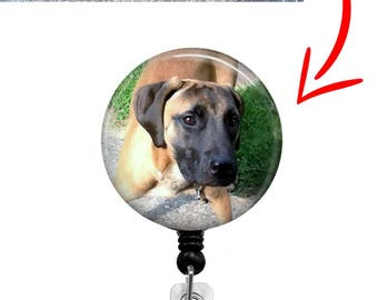 Custom Pet Photo Retractable Badge Reel - Pet ID Badge - Badge Reels - Nurse Badge Reel - Custom Pet ID Badge
