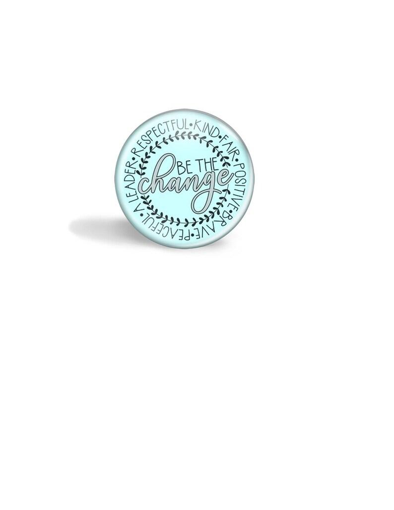 Badge Reel Nurse Badge Reel Be Kind Topper Badge Magnetic Badge Reel Topper Badge Reel Topper Interchangeable Badge Reel