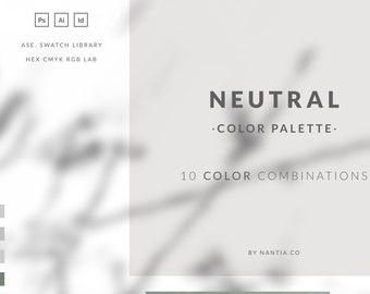 Neutral Color Palette collection