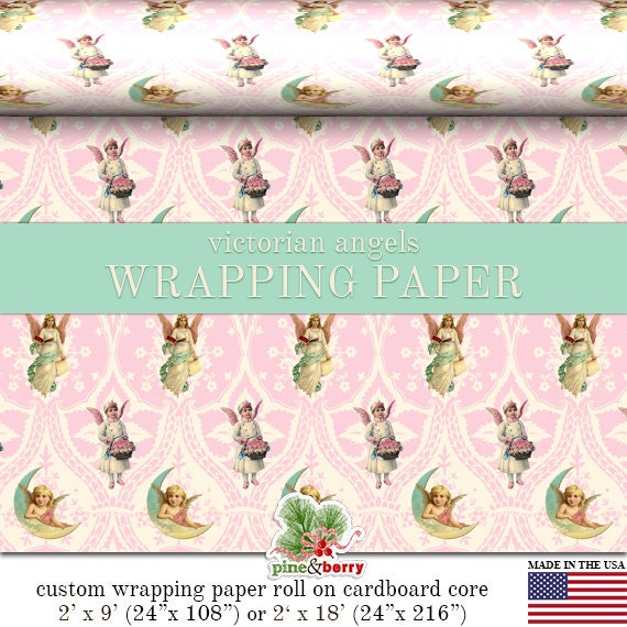 image 0 - Pink Christmas Wrapping Paper