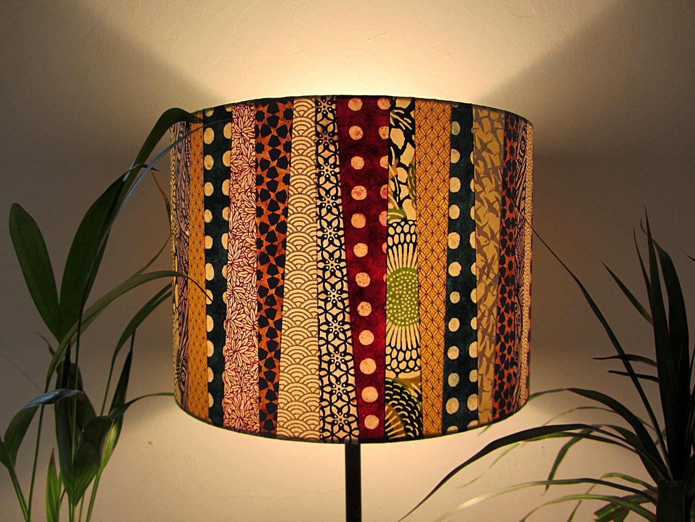 abat jour cr ation goldy boogie en papier japonais etsy. Black Bedroom Furniture Sets. Home Design Ideas