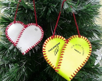 Softball ornaments | Etsy
