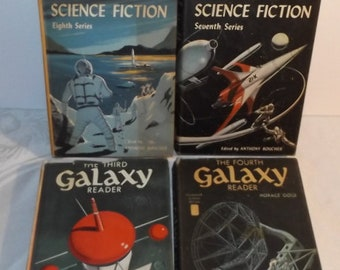 11 Galaxy Science Fiction Magazines Masters of Sci Fi Huge