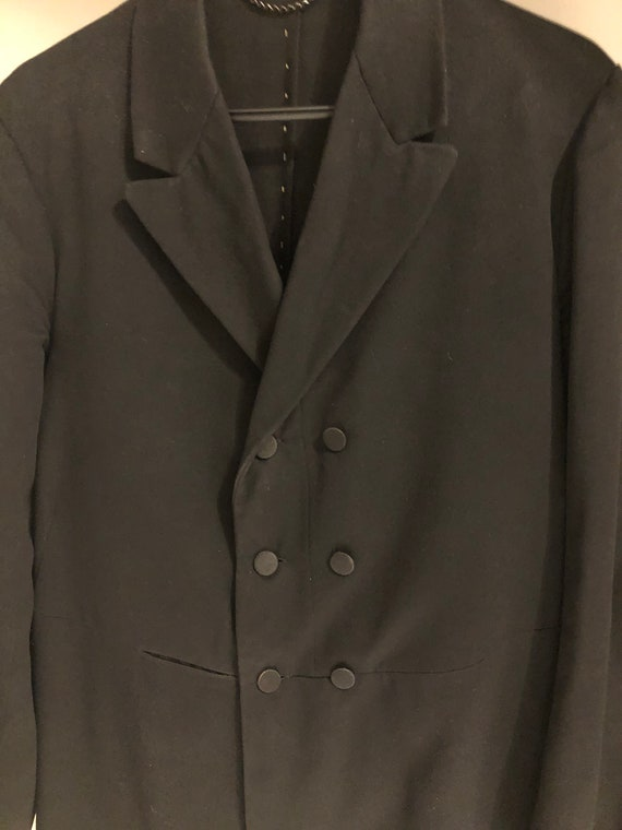 1900s Double Breasted Frock coat, Victorian/Edward