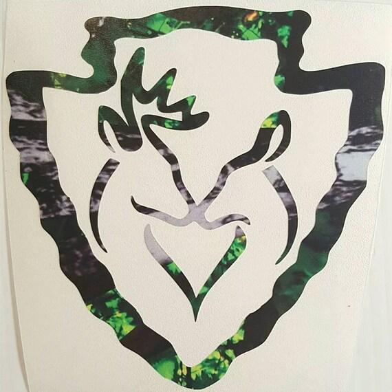 "Teal Camo Country Princess Car Truck Vinyl Decal 5/"" Muddy Deer Browning Girl"