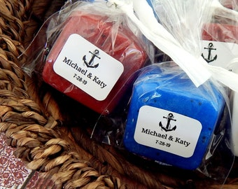 Soap Anchor Wedding Favor Nautical Theme Beach Favor Destination Wedding Fishing Boat Wedding Cruise Wedding Party Favor Personalized Favor