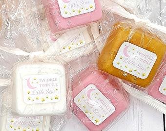 Twinkle Twinkle Little Star Baby Shower Favor, Girl Baby Shower Favors, Mini Soap Favor, Girl Theme Party Favor, Babyshower Favors for Guest