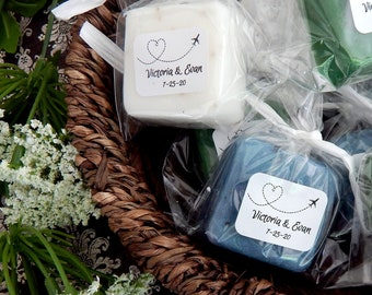 Soap Destination Wedding Favors Personalized Favors Aviation Wedding Airplane Heart Travel Wedding Favors Destination Bridal Shower Favors
