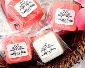 Soap Flamingo Wedding Favors Flamingo Party Favors Destination Wedding Bachelorette Party Favors Tropical Bridal Shower Flamingo Baby Shower