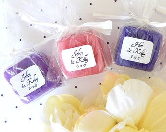 Soap Mini Wedding Soap Favor Personalized Bridal Shower Handmade Soap Baby Shower Mini Wedding Shower Favor Baby Shower Favor Gift for Guest