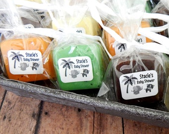 Jungle Baby Shower Favors Safari Baby Shower Favors Jungle Theme Party Favors Guest Soap Favors Noahs Ark Baby Shower Favors Animal Themed