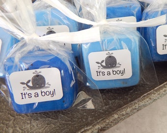 Whale Baby Shower Favors Little Boy Baby Shower Small Soap Favors Nautical Shower Favor Baby Sprinkle Whale Party Favor Whale Birthday Party