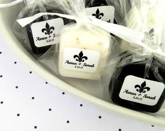 Fleur De Lis Favor NOLA Wedding Favors New Orleans Wedding Bridal Shower Favors Paris Wedding French Wedding Mardi Gras Party Favor Gift