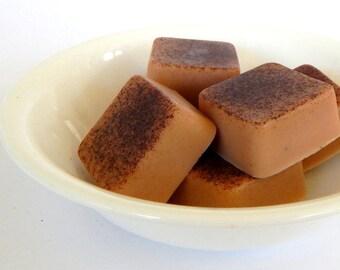 Sale CINNAMON + BROWN SUGAR Soap Cinnamon Soap Homemade Soap Bars Mini Soap Bar Soap Samples Mini Soap Set Small Soap Homemade Soap Sale