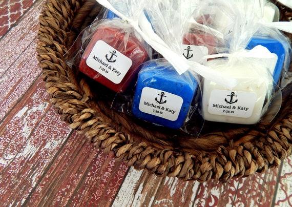 Soap Anchor Wedding Favor Nautical Theme Beach Favor Etsy
