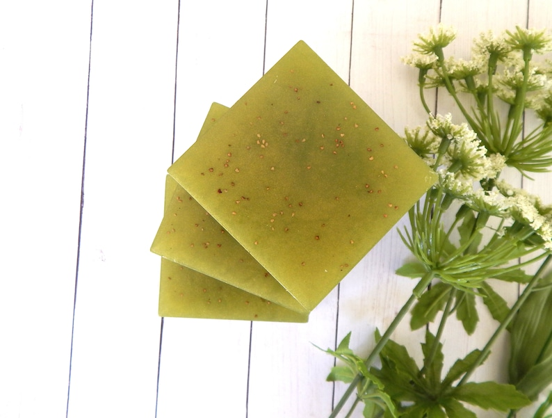 PINEAPPLE CILANTRO Scented Soap Pineapple Soap Homemade image 0