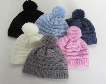 """18"""" Pom Pom Toque - 18 Inch Doll Clothes - Fits Like American Girl ® Doll Clothes"""