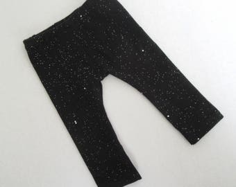 "18"" Doll Black Sparkle Leggings - 18 Inch Girl Doll Clothes - Fits Like American Girl ® Doll Clothes"