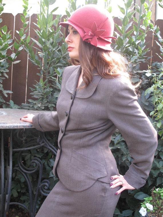 40's-gabardine suit - image 3