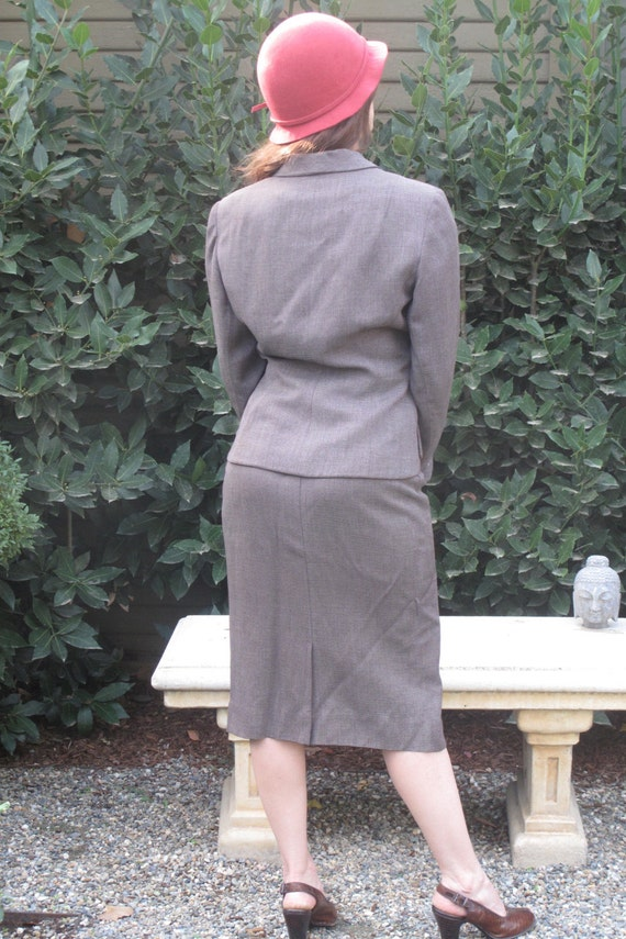 40's-gabardine suit - image 5