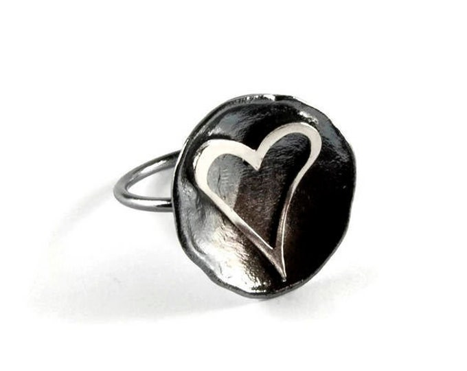 Big Heart Statement Ring