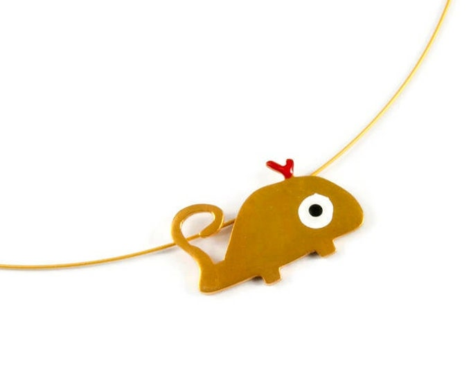 Make a Splash Monster Whale Pendant