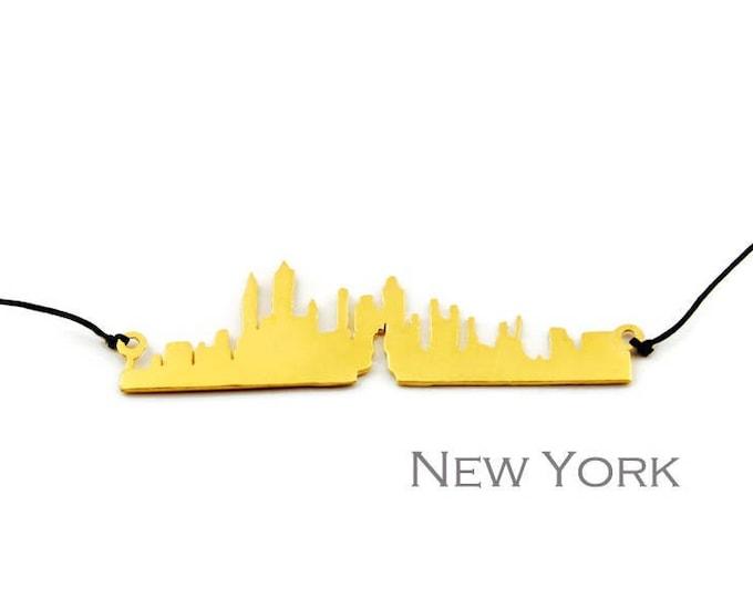 Manhattan New York Skyline Modern Pendant