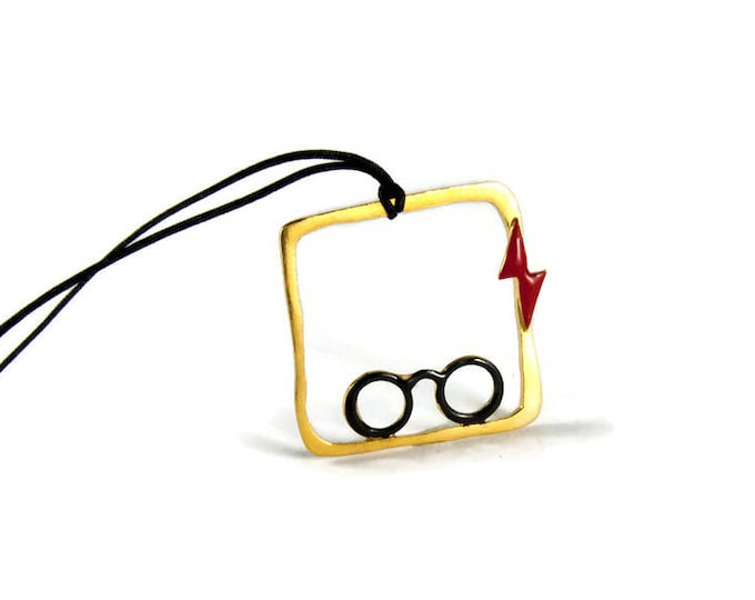 Harry Potter Sterling Silver Pendant