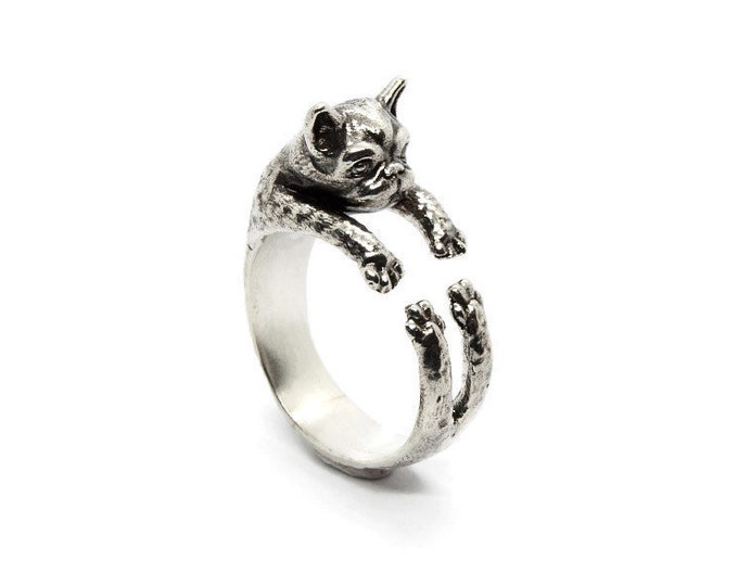 Best Friend Dog Statement Ring