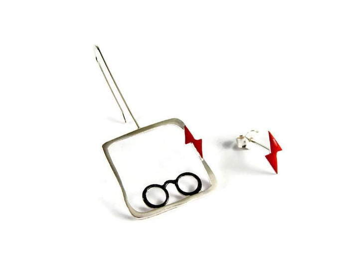 Harry Potter Mismatched Earrings