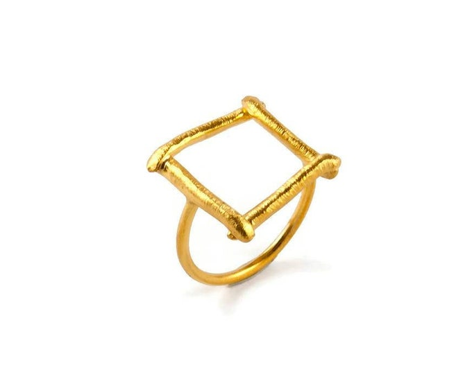 Geometry Class Square Statement Ring