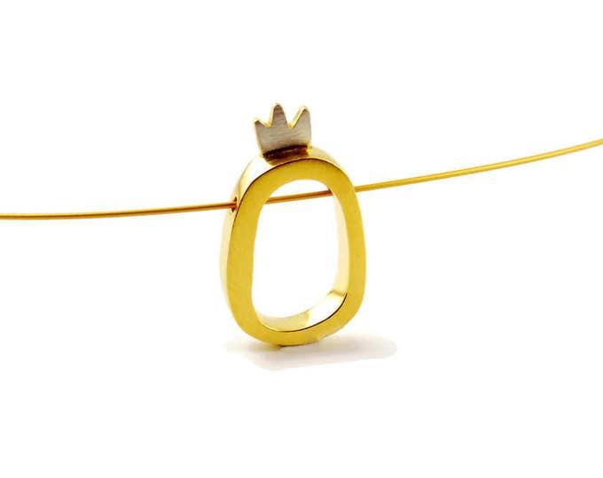 Minimal Princess Pendant
