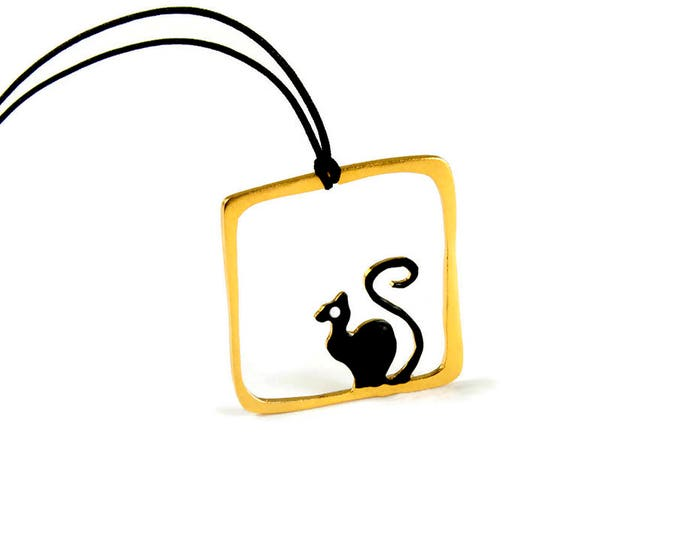 Cat Lover Pendant Necklace