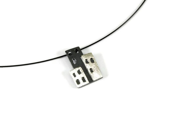 Nightlife City Art Pendant