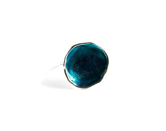 Color Pool Statement Ring