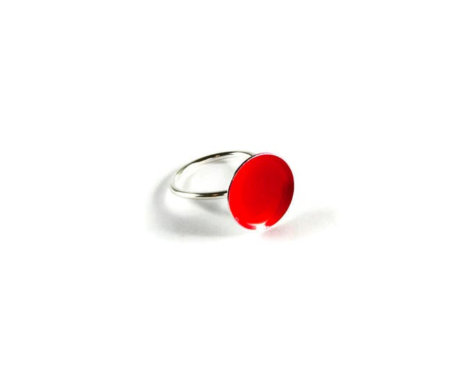 Passion for Fashion Minimal Candy Statement Ring