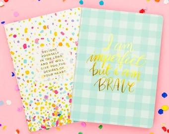 Confetti Prayer Notebook Set of 2