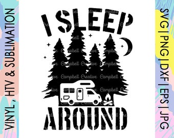 I Sleep Around Etsy