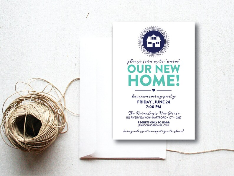 INSTANT DOWNLOAD housewarming party invitation / housewarming image 0