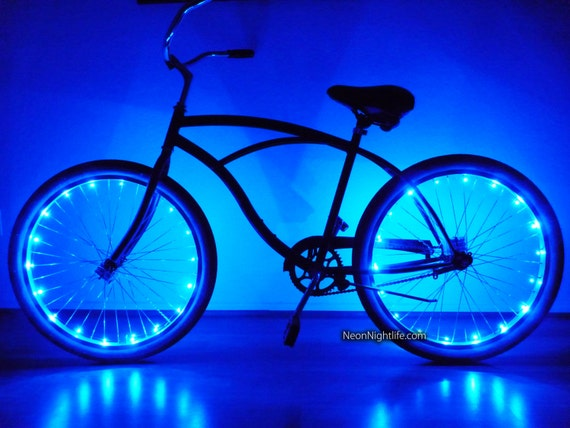 huge discount ef1a8 8adee Bike LED Lights Bicycle Glow in the Dark Light Up Party  Ets