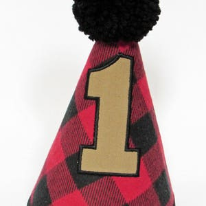 Lumberjack Boys Birthday Hat Or Bow Tie Long Diaper Cover First Red Plaid Buffalo 1st Outfit