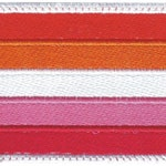 New Lesbian Gay Pride Flag Embroidered Patch