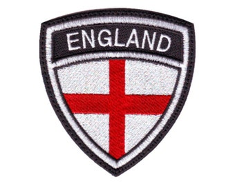 Lambretta Lion St George Embroidered Patch