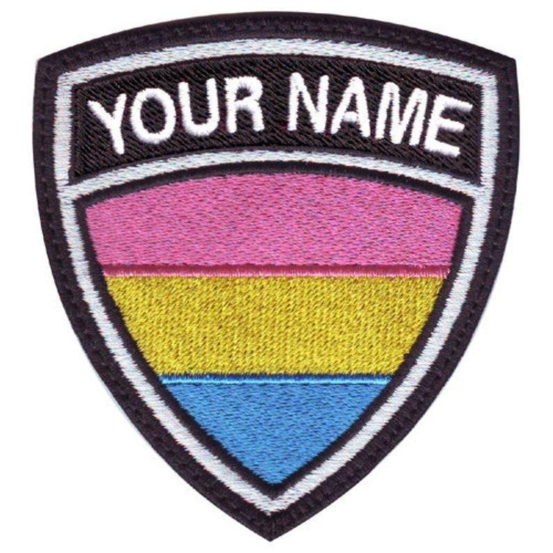 Transgender LGBTQ Drapeau ecusson brodé Patch