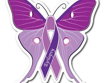 Set of Epilepsy Awareness Sticker/Decal or Magnet