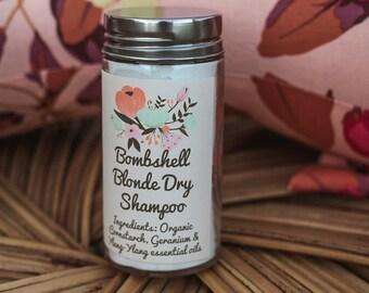 All-Natural Organic Dry Shampoo- Blonde Bombshell