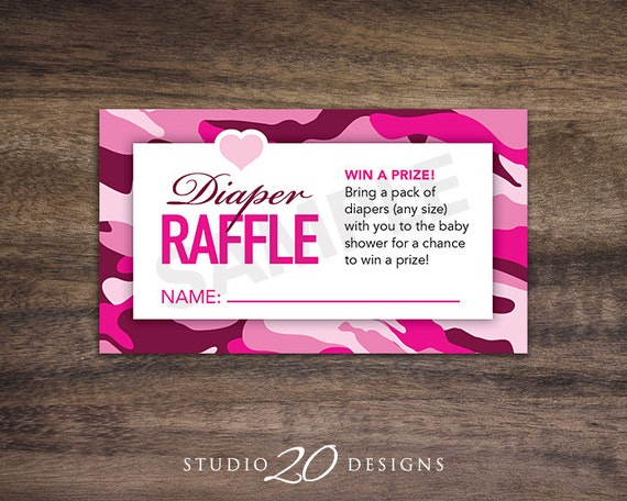 Instant Download Hot Pink Camo Baby Shower Games Diaper Etsy